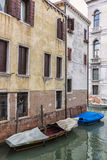 Old Boats in Venice, Italy Stock Photography