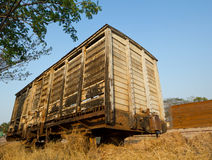 Old bogie cattle wagon Royalty Free Stock Photography