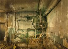 Old boiler Royalty Free Stock Image
