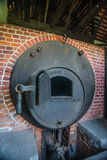 Old boiler for steam engine Royalty Free Stock Photo