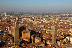Old Bologna. Italy. Panorama of old Bologna, Italy Royalty Free Stock Photo