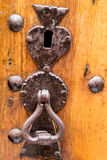 Old bolt from door Royalty Free Stock Photography