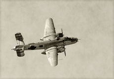 Old bomber Royalty Free Stock Image