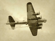 Old bomber Stock Images