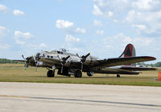 Old bomber Royalty Free Stock Photos