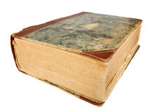 Old book. Isolated on the white background Stock Photography