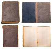 Old book. Isolated on a white background Royalty Free Stock Photos