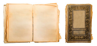 Old book. Isolated on a white background Stock Images