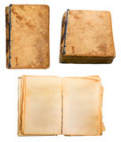 Old book. Isolated on a white background Stock Photo