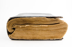 Old book. On white background Royalty Free Stock Image