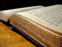 Old Book 2. An ancient book that is too seldom read Stock Photos