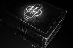 Black Old Book royalty free stock photos