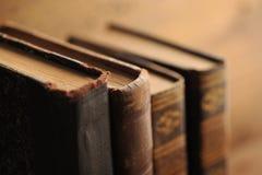 Old book. Close up, shallow dof stock photo