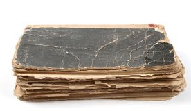 Old book. On a light background Royalty Free Stock Photo