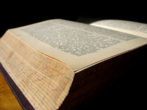 Old Book 3. An ancient book that is too seldom read Royalty Free Stock Photo