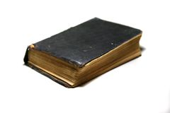 Old book. Thee old book on white background Royalty Free Stock Images