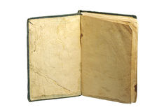 Old book with blank pages Royalty Free Stock Photo