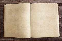 Old Book. With blank pages Stock Photography