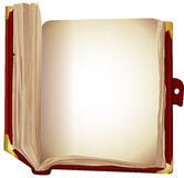 Old book  brown cover Royalty Free Stock Photo