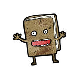 old book cartoon character Royalty Free Stock Photography