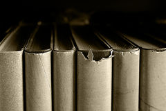 Old book close up Stock Photo