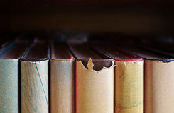 Old book close up Royalty Free Stock Photo