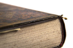 Old book close-up Royalty Free Stock Photography