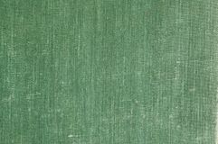 Old book cover texture. Green Old book cover texture Royalty Free Stock Images