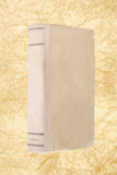 Old book with crumpled paper Stock Photography