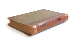 An old book with a crumpled sheet Royalty Free Stock Image