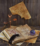 Warlock book Stock Photography