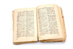 The old book - the dictionary Stock Photo