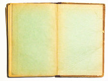 Old book double page Royalty Free Stock Photography