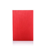 Old book with empty blank cover. Studio shot isolated on white Stock Images