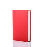 Old book with empty blank cover. Studio shot isolated on white Stock Photography