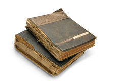 The old book with an engraving Royalty Free Stock Photography