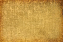 Old book fabric background. Showing aging Stock Photo