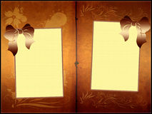 Old book frames template Stock Photo