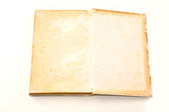 Old book grunge  on white Royalty Free Stock Photo