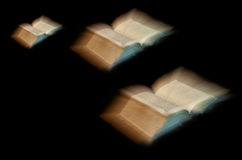 Old book: holy Bible Royalty Free Stock Photo