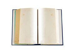 Old book isolate Stock Photos