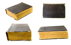 old book (isolated) Royalty Free Stock Photo