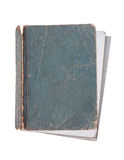 Old book isolated. On a white background Royalty Free Stock Photo