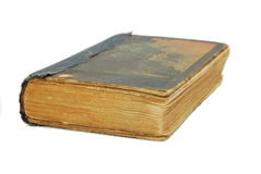 Old book isolated Stock Photo