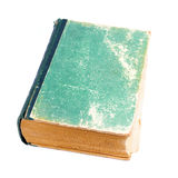 Old book isolated Stock Image