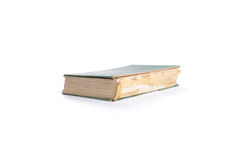 Old book isolated Stock Images