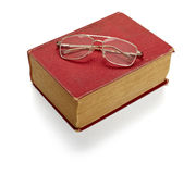 Old book knowledge education Stock Photography