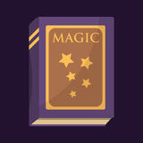 Old book with magic stars text fairytale vintage mystery fantasy imagination education literature and religion bible Stock Photos
