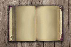Old book open Royalty Free Stock Photography