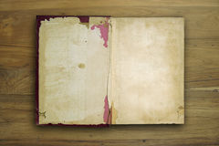 Old book open Royalty Free Stock Photos